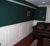 Shadow box molding after picture